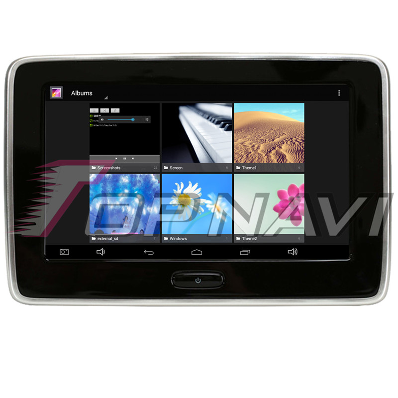 Car Headrest Monitor DVD Video Player TFT LCD Screen