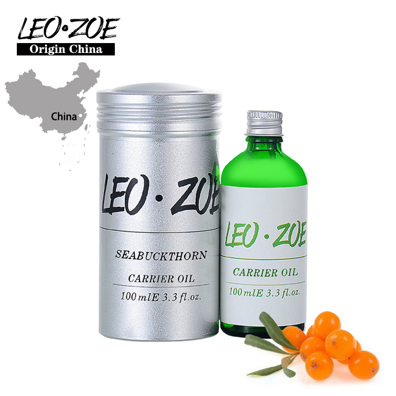 LEOZOE Sea Bucktborn Oil Certificate Of Origin China High Quality Sea Bucktborn Essential Oil 100ml Huile Essentielle leozoe pure camellia oil certificate of origin japan camellia essential oil 100ml essential oil huile essentielle