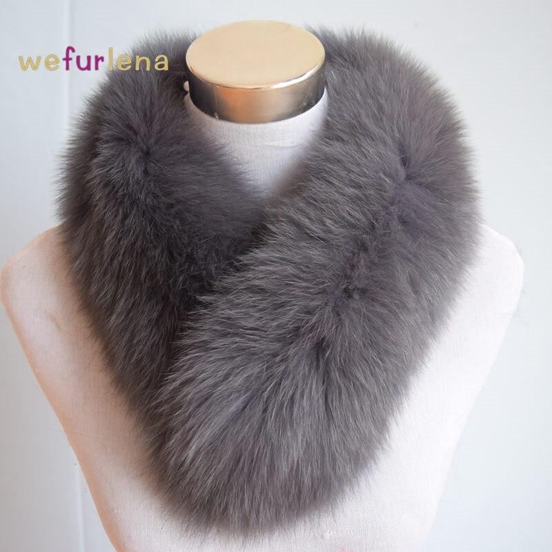 2018 Laika ierobežojumi sievietēm pieaugušo modes šalle rudens un ziemas sieviešu īstās lapsa kažokādas šalle Lady apkakles trokšņa slāpētājs