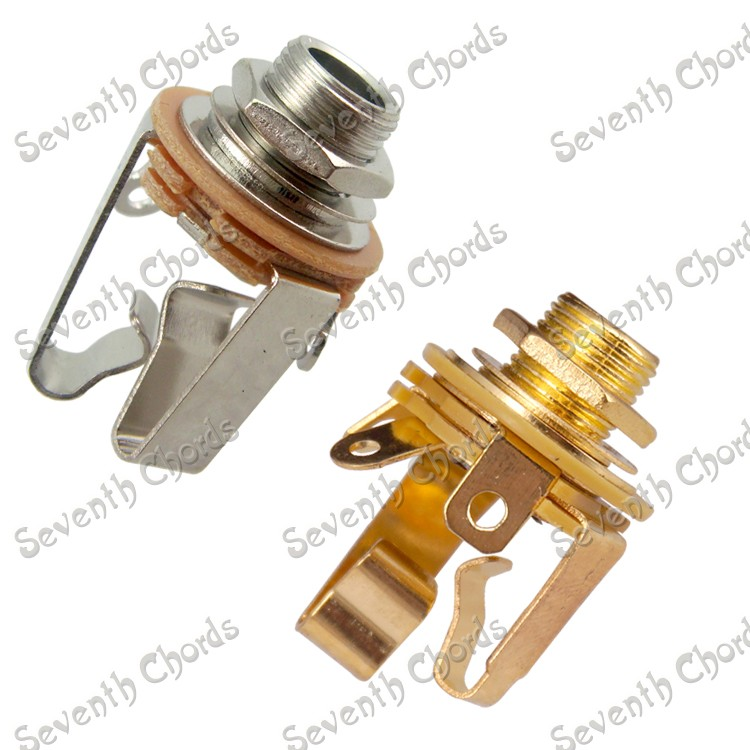 online buy whole stereo output jack from stereo output 2 pcs open circuit 1 4 stereo jack input plug socket for electric guitar