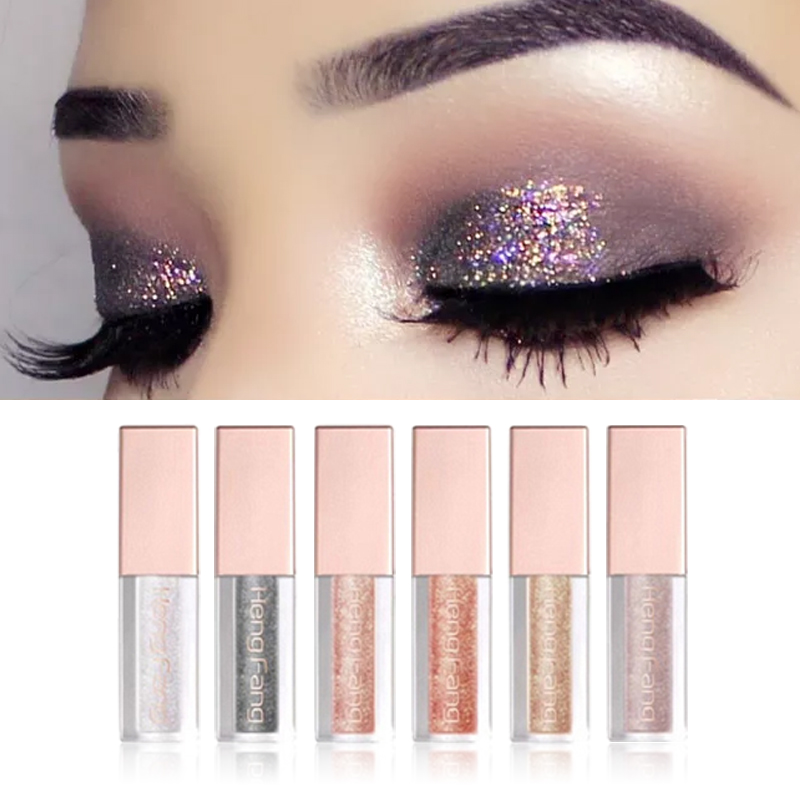 Creative Love Alpha 13 Colors Eye Shadow Flash Powder Super Bright Pearl Shining Bright Glitter Powder Pink Diamond Brand Makeup Beauty Essentials Beauty & Health
