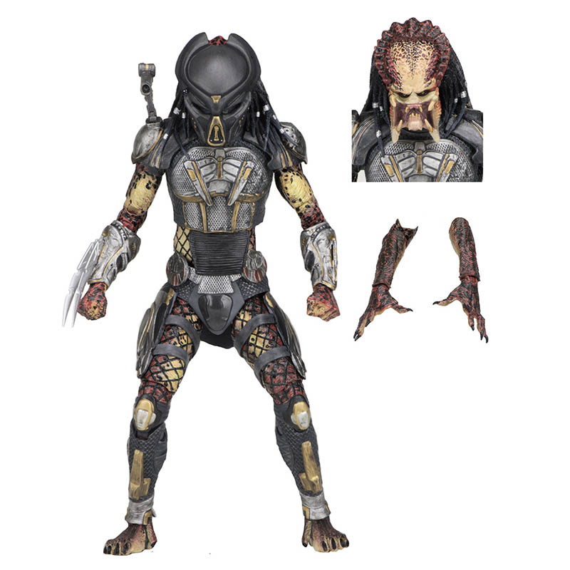 Anime 1 8th Scale The Predator Fugitive Predator Variant Ultimate Action PVC Figure Toy Brinquedos 18CM