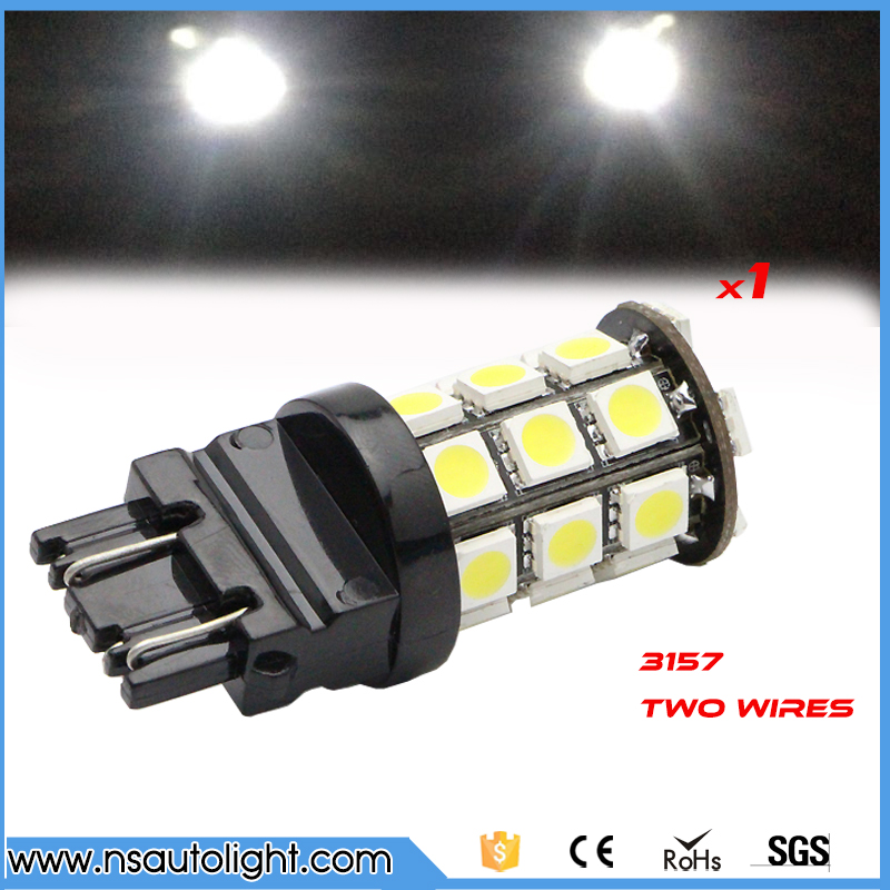 3157 27SMD 5050 High Power Chip LED Brake Tail Stop Lights Bulbs 12V 1pc