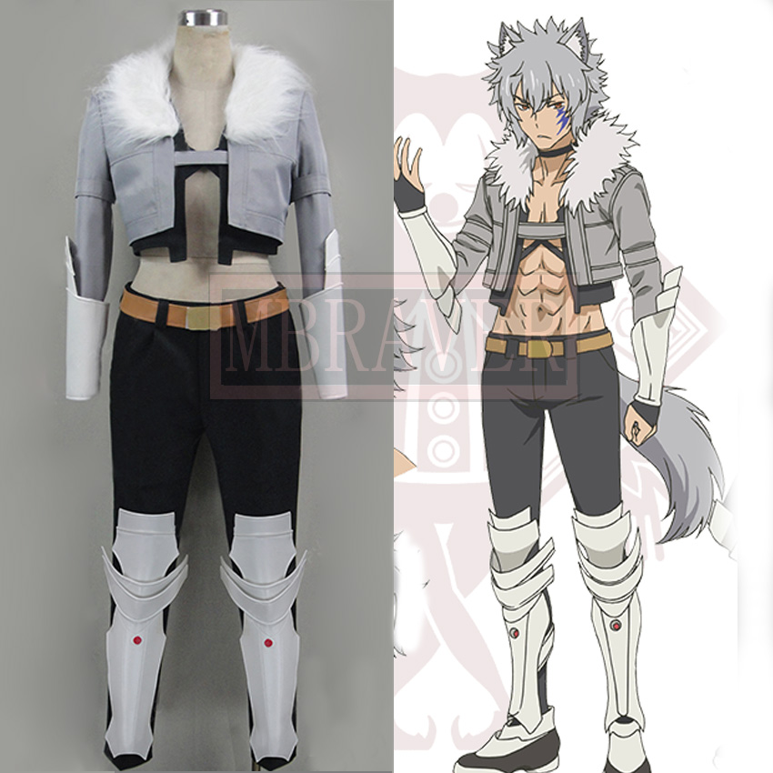 Is It Wrong to Try to Pick Up Girls in a Dungeon Bert Roca cosplay Costume Customized