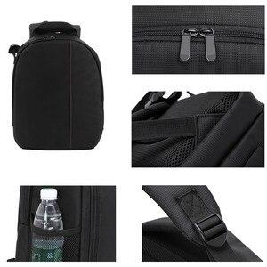 Image 5 - Torba na aparat DSLR plecak dla Nikon Z50 Z5 Z7 Z6 D3400 D3300 D3500 D5600 D5500 D5300 D7500 D7200 D3200 D3100 D3000 D5200 D5100
