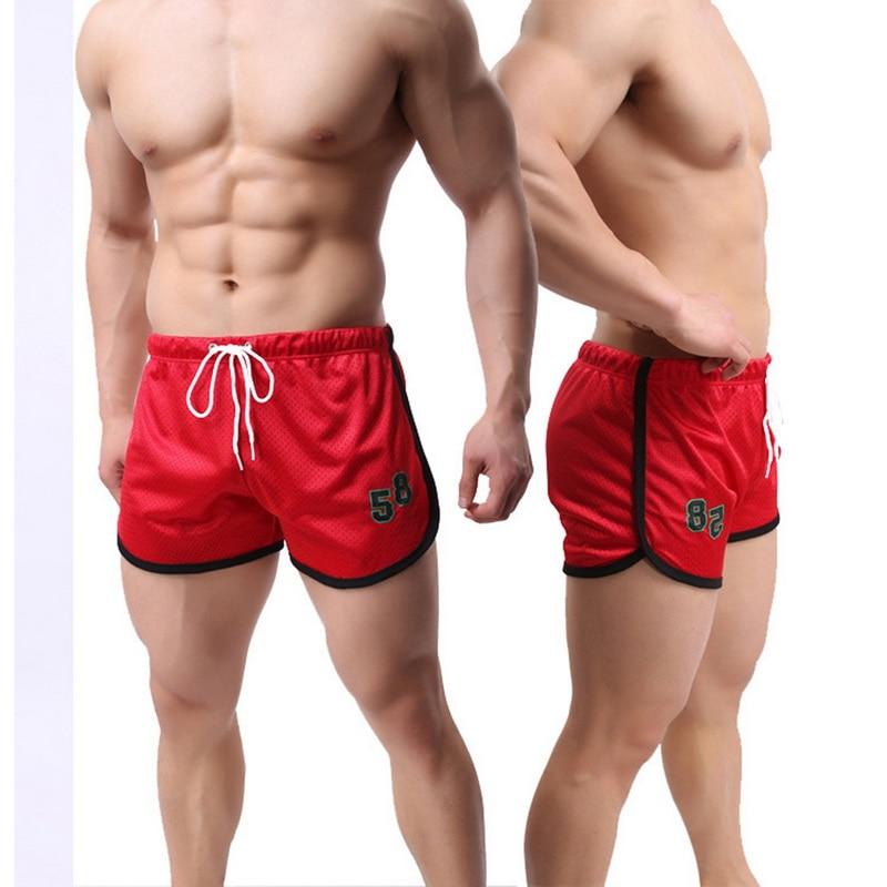 CALOFE Men Sports Beach Board Shorts Trunks Swimming Swimwear Trunks Outdoor Workout Male Shorts Summer Men Surfing Shorts