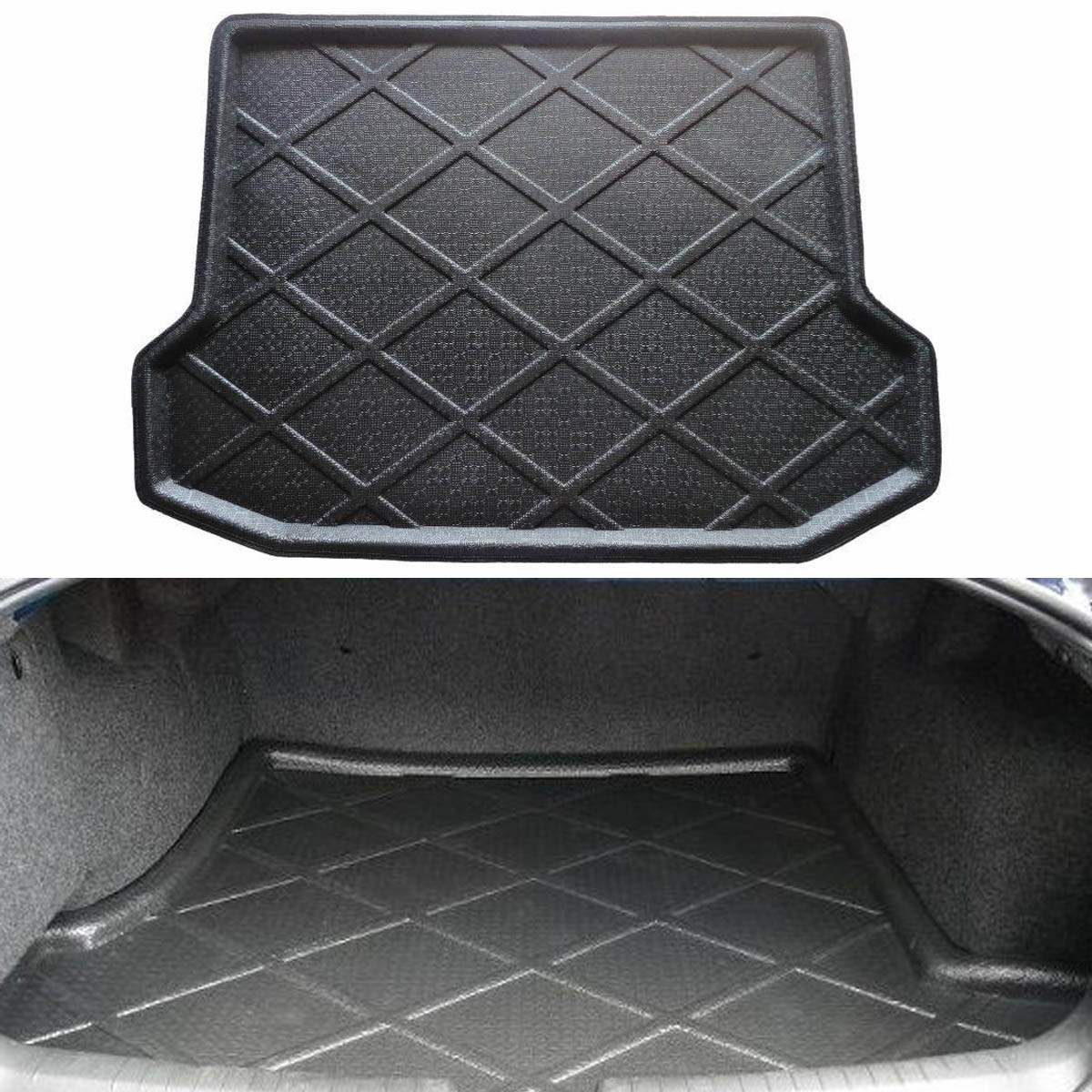 Rubber floor mats toyota rav4 - Car Rear Trunk Cargo Floor Protection Mat Pad Liner For Toyota Rav4 2007 2013