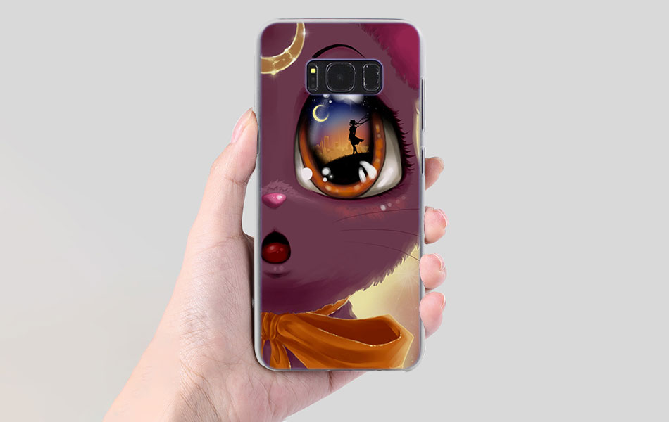 Cellphones & Telecommunications Objective Ketaotao Cute Cartoon Comics Sailor Moon Luna Cat Phone Cases For Samsung S3 S4 S5 S6 S7 S8 9 Note Case Soft Tpu Rubber Silicone Attractive And Durable
