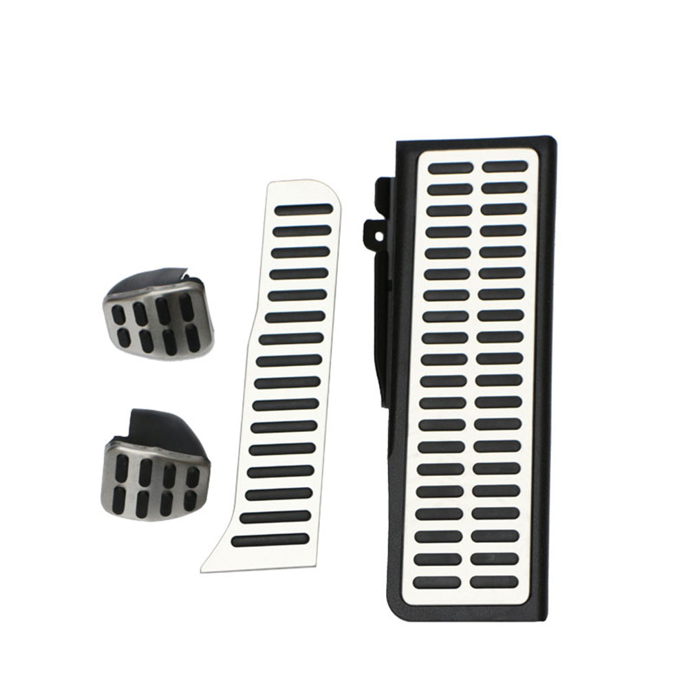 Carmilla Car Gas Brake Rest Pedal Pedals Car Pedals for Volkswagen Vw Golf 5 6 MK5 MK6 Skoda Octavia Jetta MK5 MK6 Scirocco vba for dummies