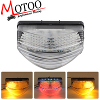 Motoo Free Shipping Motorcycle LED Rear Turn Signal Tail Stop Light Lamps For Honda CBR600 F4I