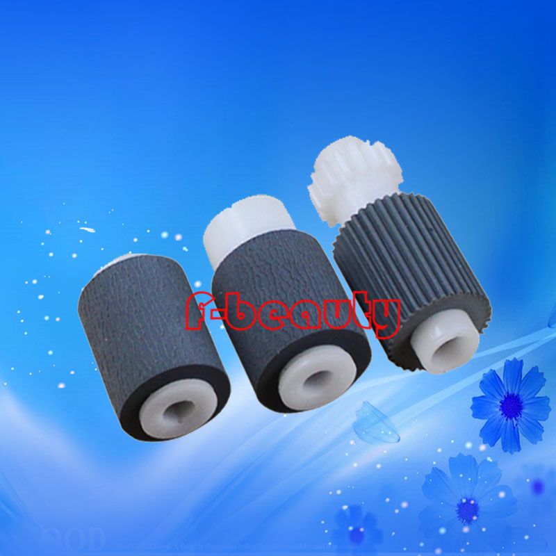 Original New Document Feeder Pickup Roller Compatible for kyocera KM2530 3530 4030 3035 5035 4035 Pick Up Roller(one set 3pcs) compatible new pick up roller for hp 5000 rb2 1820 000 10 pcs per lot page 7