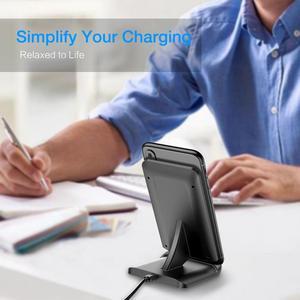 Image 3 - RAXFLY 10W QI Chargeur Sans Fil Pour iphone 11 XR 8 Plus De Charge Rapide Pour Huawei P30 Pro Chargeur de Téléphone Sans Fil Pour Samsung S10 S9