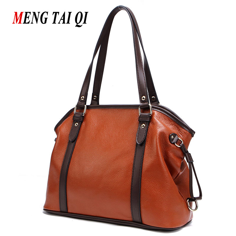 New Arrival Genuine Leather Women Bag 2017 Fashion Messenger Bag Shoulder Bags L