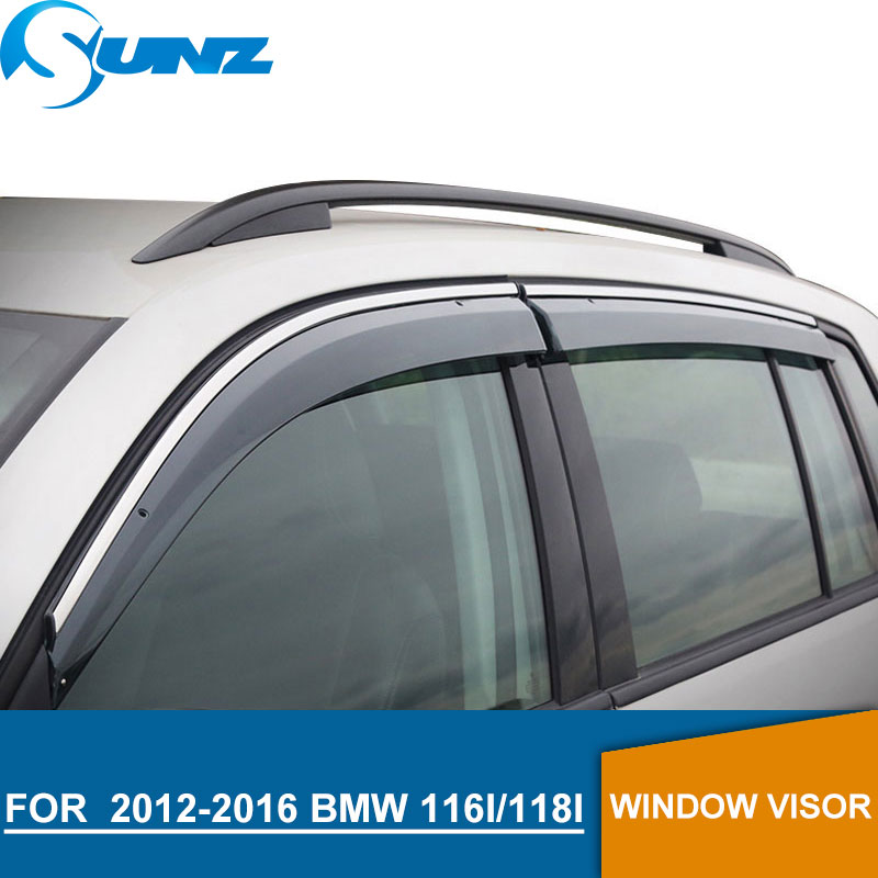 Window Visor for 2012 2016 BMW 116i/118i Side window deflectors rain guards for 2012 2016 BMW 116i/118i SUNZ-in Awnings & Shelters from Automobiles & Motorcycles