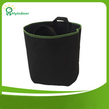 10 штук в упаковке 5 галлонов нетканые круглые тканевые мешки для выращивания растений мешок корня контейнер аэрации горшок для растений с ремешками ручки
