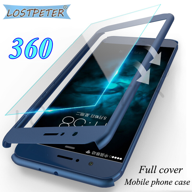 Luxury Full Cover For Huawei Mate 10 Lite Case 360 protector Matte...