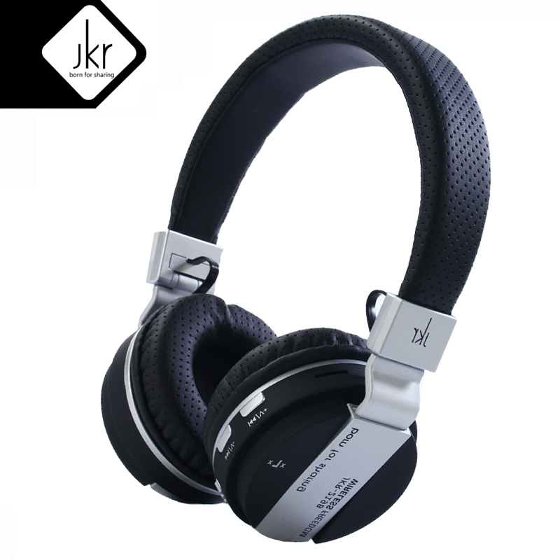 JKR 219B Wireless Headphone Bluetooth Headsets with Microphone Gaming for iPhone xiaomi  Android Original Mobile Phone Headset 2017 original bluetooth headset headphones wireless headphone microphone csr aptx sport earphone for iphone xiaomi android phone