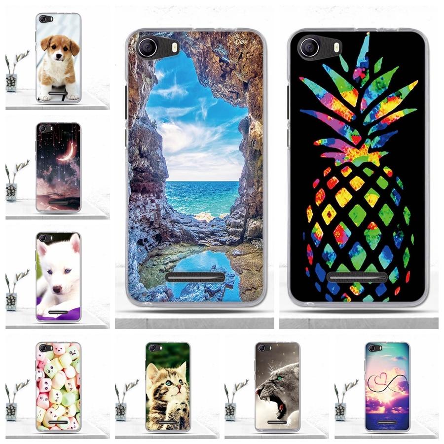 For BQ BQS-5065 Choice 5.0 Case Soft Silicone TPU Cartoon Back Cover Case for BQS5065 BQ S 5065 Choice Phone Case Covers Fundas