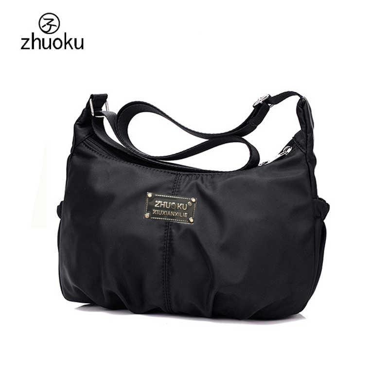 Women Crossbody Hobos Bag Ladies Nylon Handbag Travel Casual Bag Leisure  Fashion Bags Bolsos Mujer Brand 3672a5b072