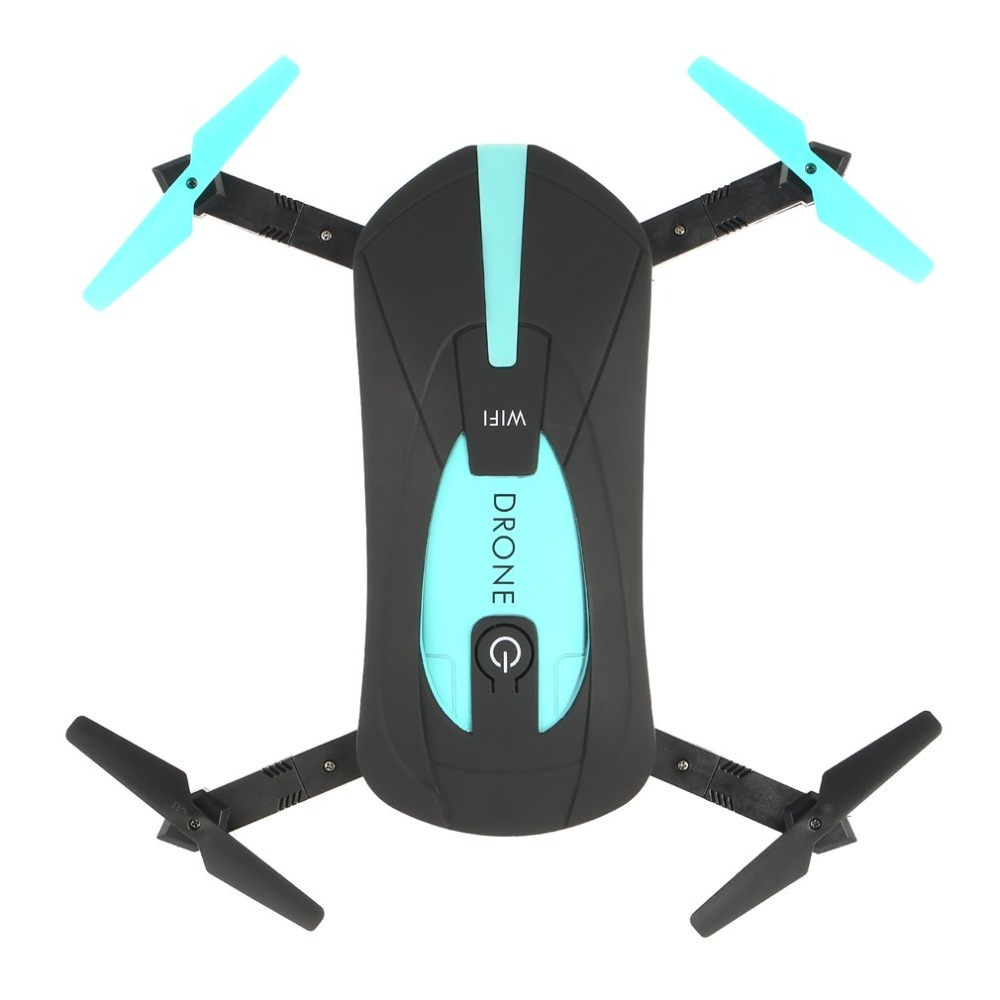 WiFi FPV Quadcopter Mini Foldable Selfie Pocket Drone RC Drones with HD FPV 2.0MP Camera G-Sensor Altitude Hold RC Helicopter
