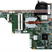 615849-001 605903-001 материнская плата для hp G62 G72 CQ62 с радиатором вместо 597674-001 597673-001 совместима и бесплатный процессор