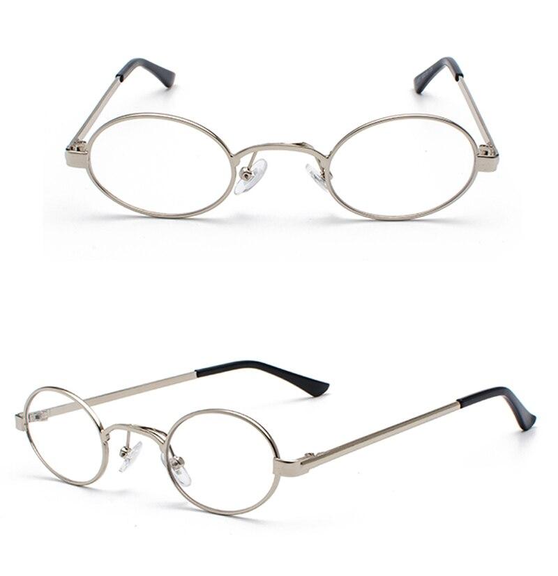Tiny Oval Sunglasses Men detail (11)