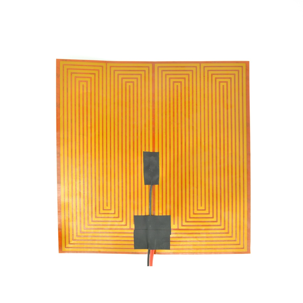 12V 300mm Square KAPTON FILM HEATER