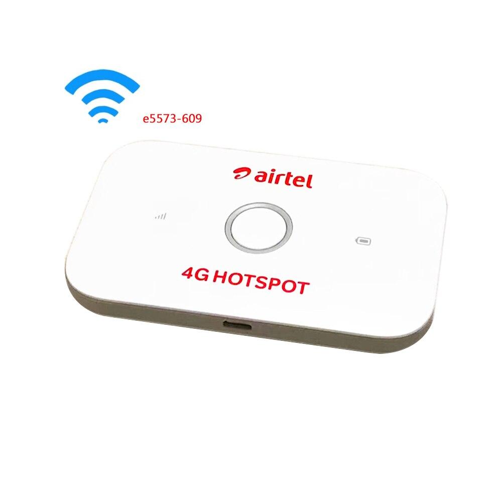 Original débloqué Huawei E5573 E5573Cs-609 LTE FDD 150 Mbps 4G poche routeur WiFi de poche routeur Hotspot Mobile
