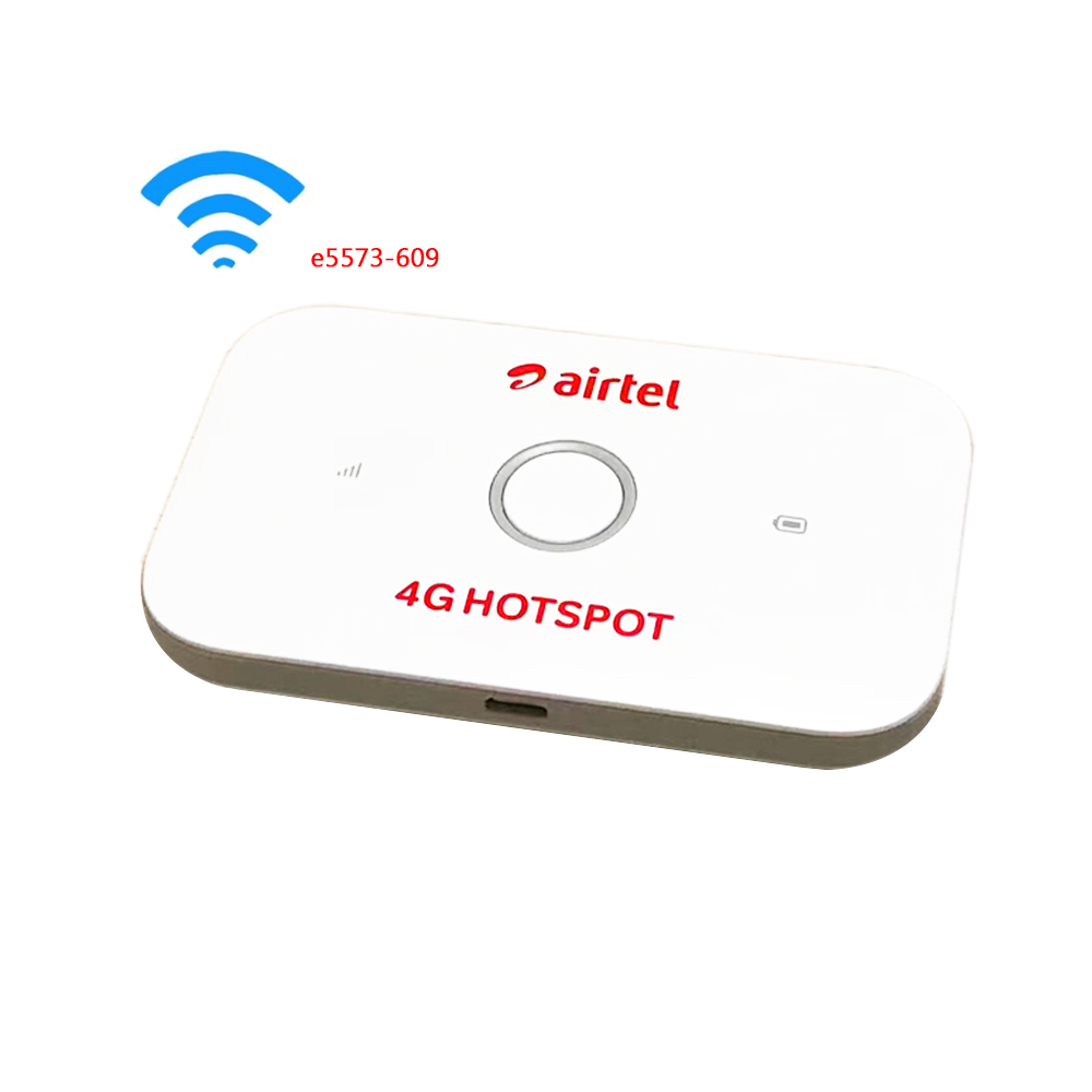 US $34 44 18% OFF|Original Unlocked Huawei E5573 E5573Cs 609 LTE FDD  150Mbps 4G Pocket WiFi Router Pocket Mobile Hotspot Router-in 3G/4G Routers  from