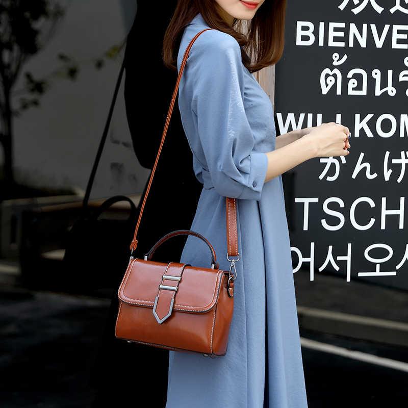 Женские брендовые кожаные сумки модная повседневная сумка большая сумка на плечо для женщин Горячая Распродажа Bolsa Feminina Sac A основной Femme T46