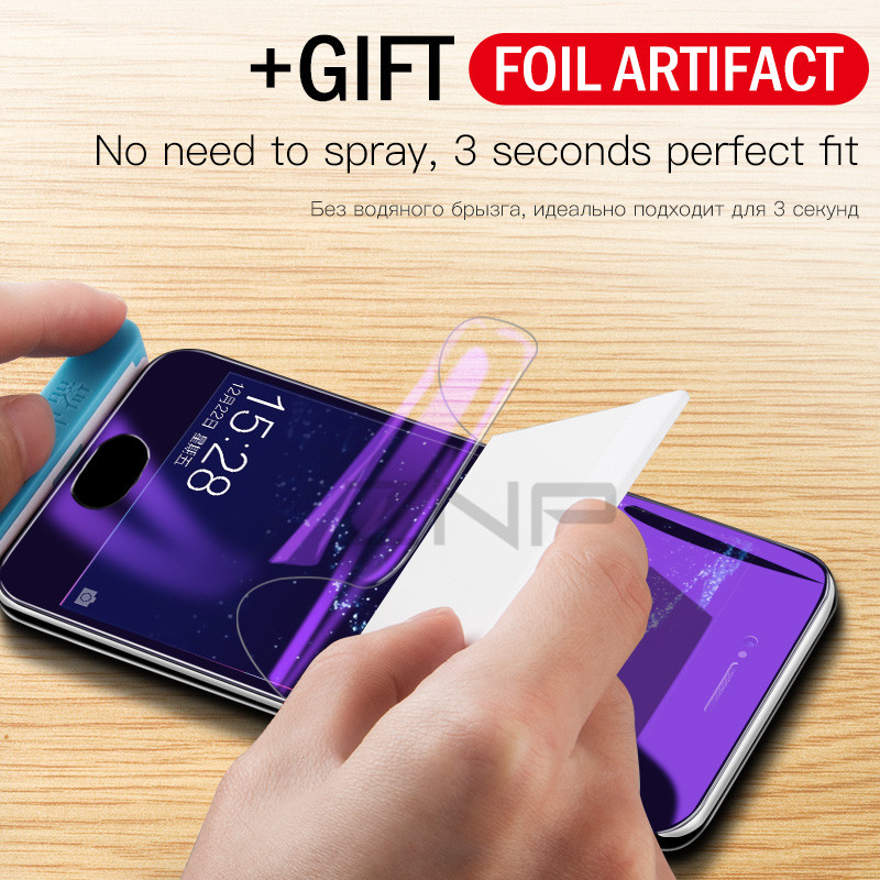 ZNP <font><b>3D</b></font> Soft Full Cover Hydrogel Film For Huawei P20 P10 Lite Pro Screen Protector For Huawei P10 Plus <font><b>Honor</b></font> 9 Lite <font><b>10</b></font> Not <font><b>Glass</b></font> image