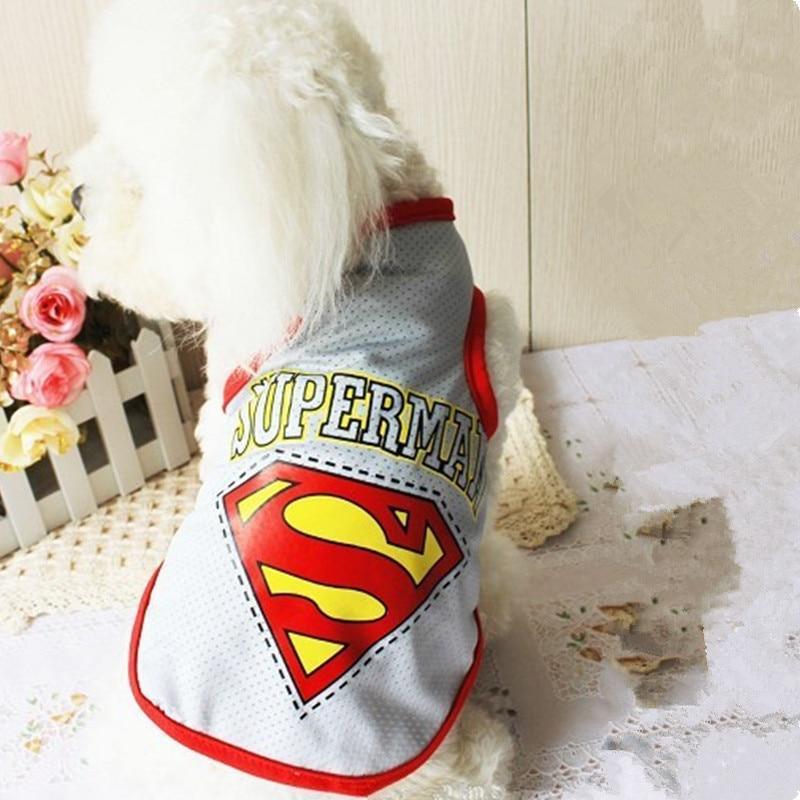 Musim panas Pakaian Anjing Untuk Anjing Kecil Pakaian untuk Anjing Keren Mesh Pakaian Pet Rompi Kemeja Musim Panas Anjing Pakaian Pakaian S-XXL