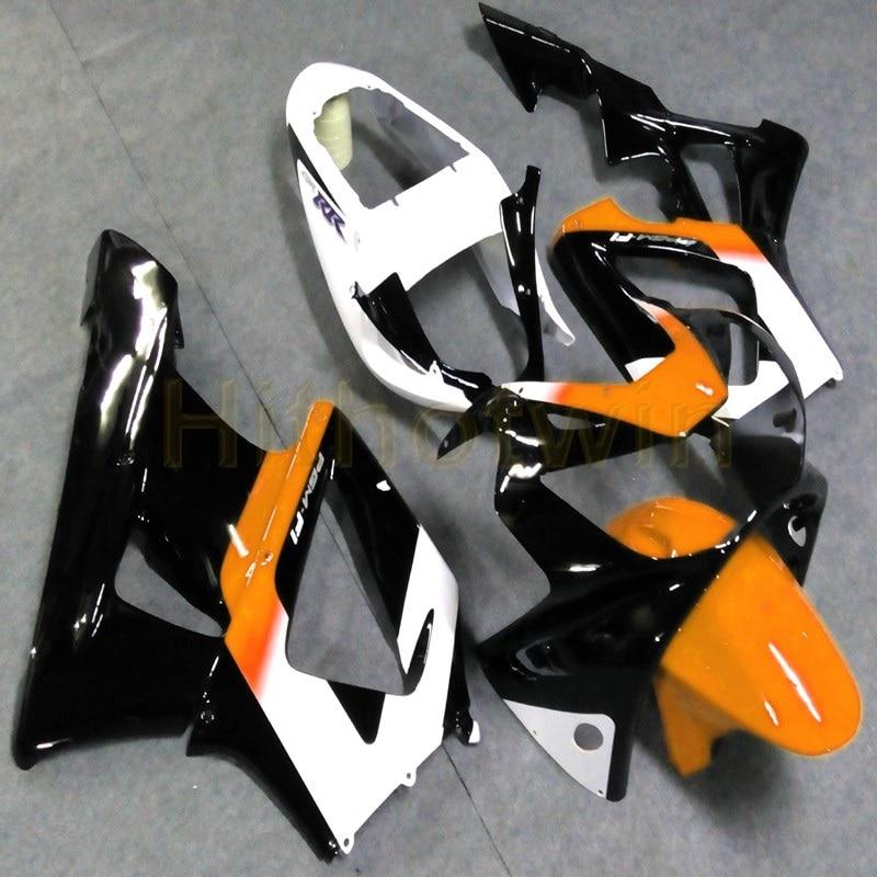 Botls Custom Injection mold black orange motorcycle Fairings for HONDA CBR929RR 2000 2001 CBR 929 RR