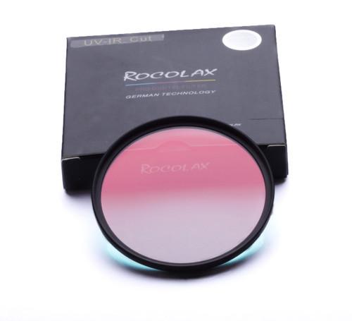 Rocolax 46mm óptico uv-ir cut para fuji lente de la cámara para canon nikon pentax sony