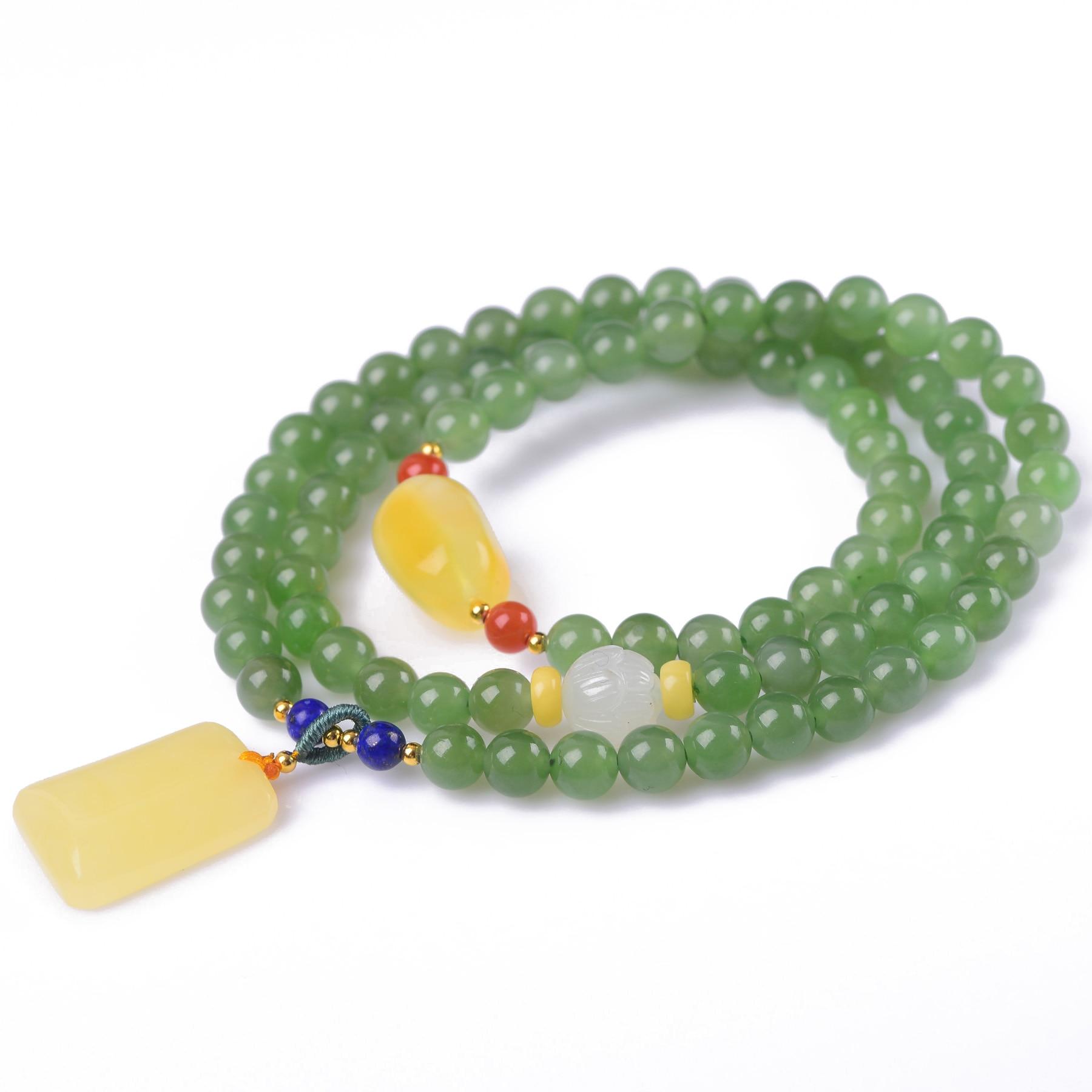 Здесь продается  Handmade Authentic Green Crystal Beads Bracelets 6mm  Ювелирные изделия и часы