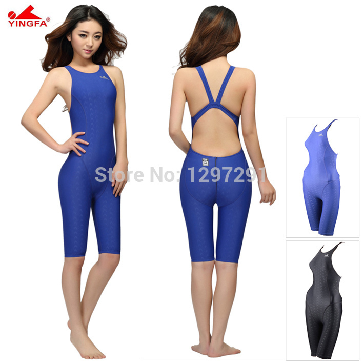 Yingfa FINA Approval Professional One-Piece Swimwear Women Swimsuit Sports Racing Competition Tight Bodybuilding Bathing Suit yingfa 953 new professional women