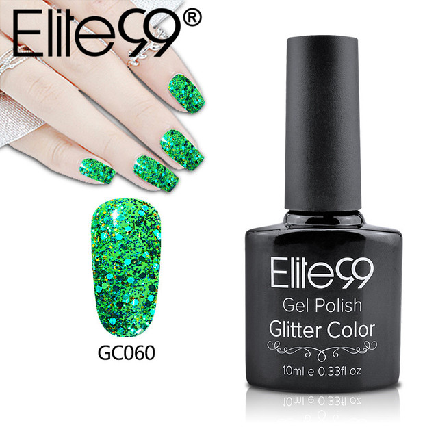 Online shop elite99 10ml nail art design manicure bling glitter uv elite99 10ml nail art design manicure bling glitter uv gel nail polish diamond sequins permanent nail primer gel varnishes prinsesfo Choice Image