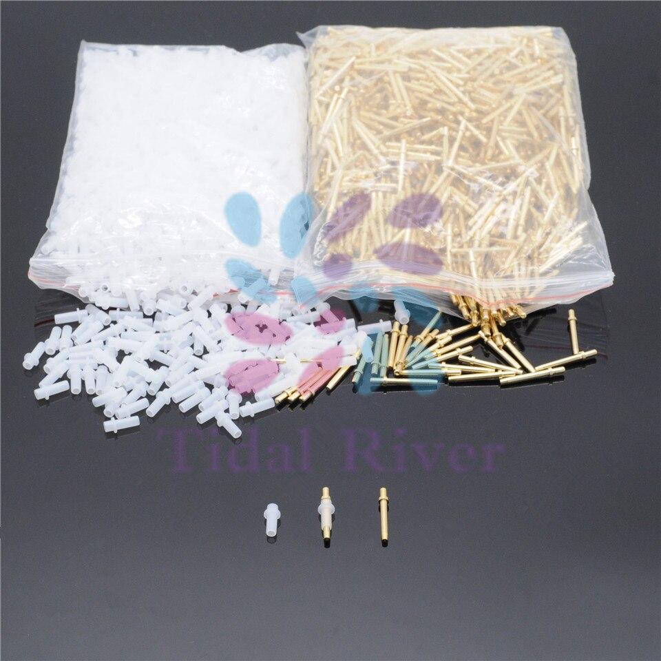 2000 pces pino longo da clinica dental com materiais do dentista das luvas accessiores fornece 20mm