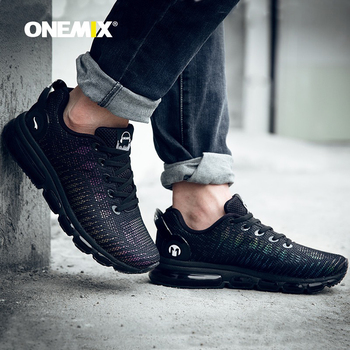 Onemix men air Cushion running shoes discolour mesh colorful reflective vamp breathable sneakers for outdoor sports jogging shoe onemix running shoes for women sports shoes sneakers damping air 270 cushion breathable knit mesh vamp for outdoor walking shoes