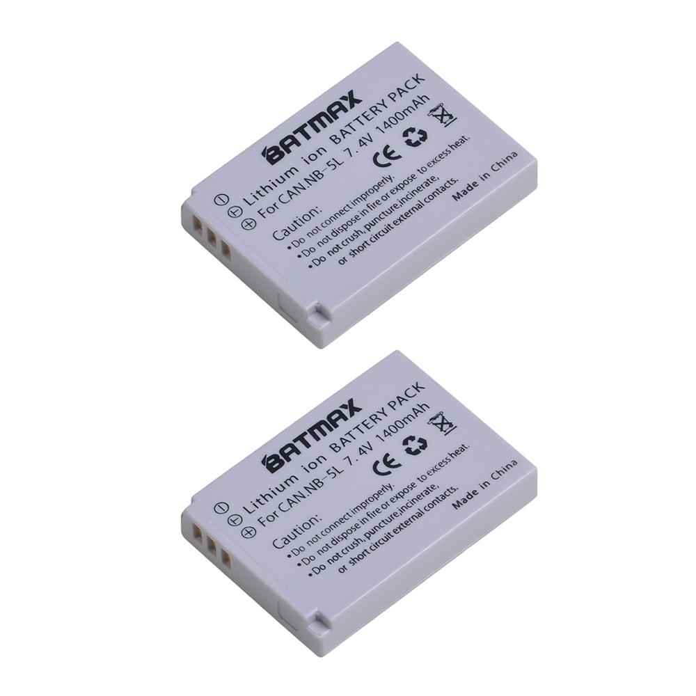 Unterhaltungselektronik Dynamisch Jhtc Nb6l Batterie Für Kamera Sx520 Hs Sx530 Sx600 Sx610 Sx700 Sx710 Ixus 85 95 200 210 Batterie Kamera 1600 Mah Nb-6l Batterien Batterien