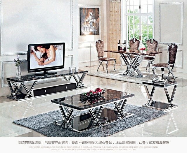 Beau HOT SALE Tv Stands Marble Top, Stainless Steel TV Stand ,DURABLE TV Cabinet  ,
