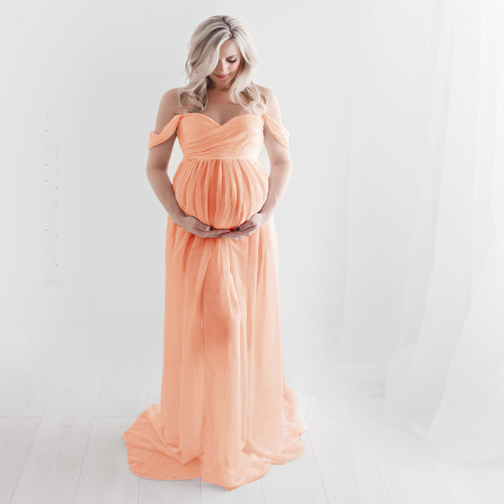 Sexy Maternity Gown for Photography