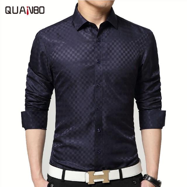 Aliexpress.com : Buy 2017 Brand New Men Shirt Male Dress Shirts ...