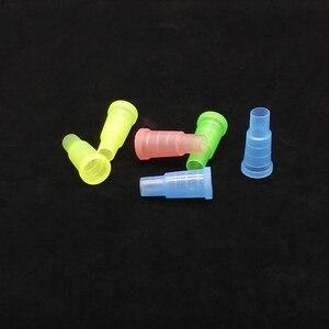 Image 2 - 50 יחידות חד פעמי צבעוני מחזיקי סיגריות לנרגילות, נרגילה, צינור מים, Sheesha, Chicha, פה צינור Narguile אביזרי טיפים SH 302