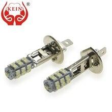 KEIN 2 шт. H1 светодиодные противотуманные лампы 3528 25 smdcar Стайлинг авто противотуманные фонари Внешние DRL Бег сигнальные лампы для автомобиля 12 V