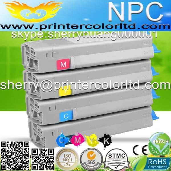 new color toner cartridge FOR OKI C822/C822N/C822DN/C822MFP/C822 A3 COLOUR PAGE laserjet PRINTERS toner cartridge-free shiping