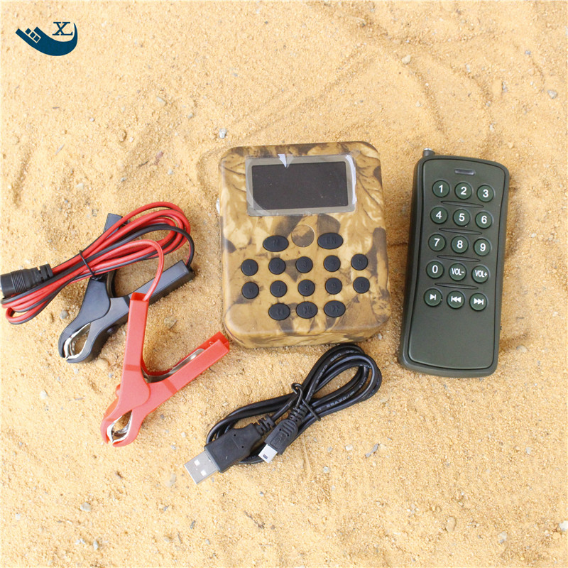 Xilei Desert Hunting  200 Bird Sounds Dc 12V 50W Lcd Display Mp3 Bird Caller Mp3 Bird Caller With Timer