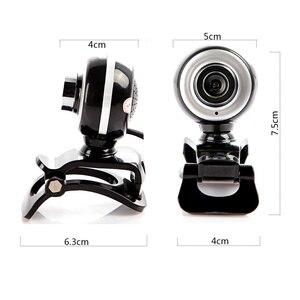 Image 3 - HXSJ 480P mode HD Webcam Pixels USB2.0 ordinateur caméra Web A848 Microphone intégré pour PC portable caméscope