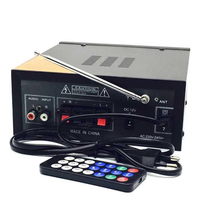 بطاقة عالية الطاقة USB بث الطاقة مضخم الصوت USB أو بطاقة SD مكبر كهربائي مع امدادات الطاقة وكابل الصوت