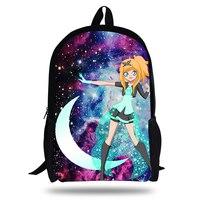 2018 Newest Backpack LolicRock Magical Girl Design Printing Children School Bags Boys Teenage Girls LolicRock Casual Backpacks